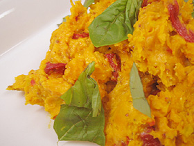 カボチャのマスタードサラダ