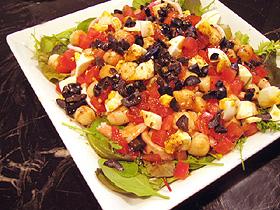 ホタテとオリーブのバルサミコサラダ