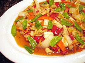 シーフードと彩野菜のオイスター煮