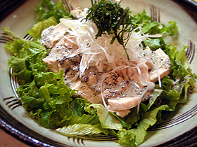 バンバン風おかずサラダ