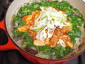 マーボー豆腐鍋