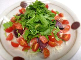 旬カツオのシチリア風サラダ