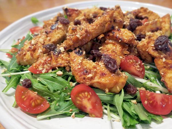 鶏むねタンドリーのサラダ仕立て