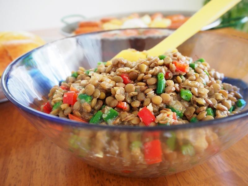 Pikadijo of lentils