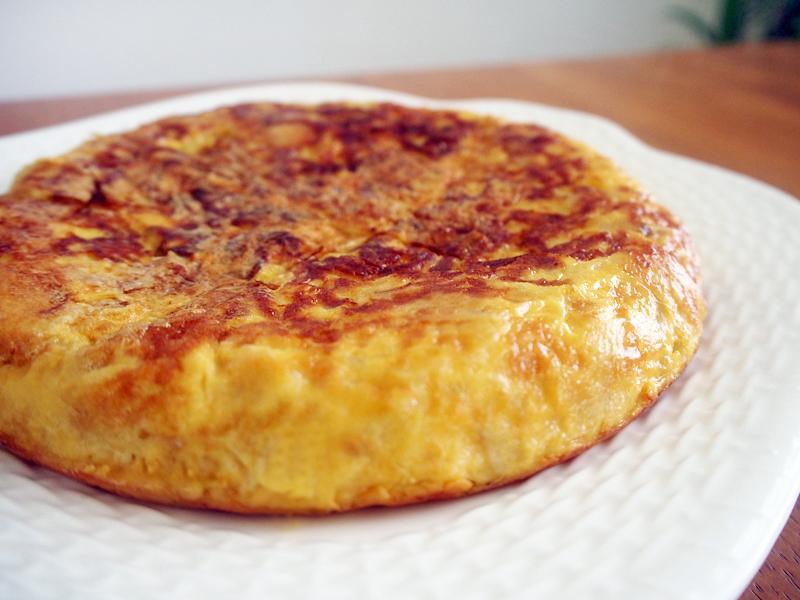 スペイン風厚焼きオムレツ Tortilla