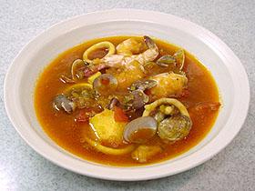 魚貝のトマトスープ zarzuela al tomate