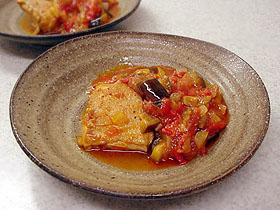 鶏肉の夏野菜煮込み Pollo y verdura cocido