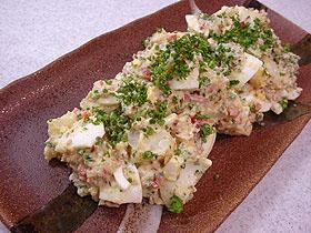 ゆで卵のポテトサラダ Ensalada de Huevos y Patatas