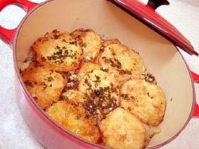 ポテトフリットのスープ煮 Patatas a la importancia