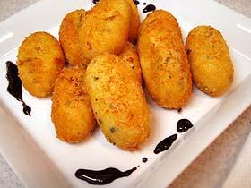 ブルーチーズのクリームコロッケ Croquetas de Queso Azul