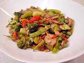いろいろ温野菜の旨み炒め Verdura