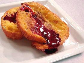 スペイン風揚げパン(ワインジャム添え) Torrija