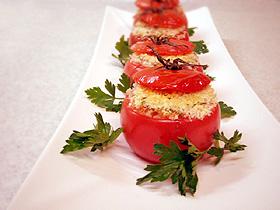 トマトのライス詰めグラタン Tomate relleno