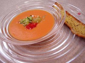 トマトの冷たいスープ Gazpacho
